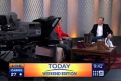 Today- Brenden Brown on Today 05/09