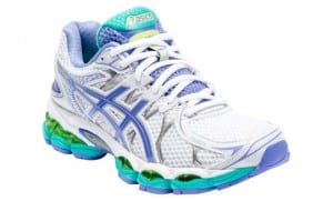 Asics Nimbus for Neutral or higher arched foot types - great supportive cushioning