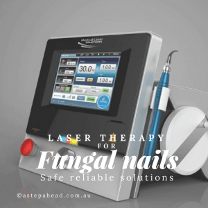 fungal nail laser is effective and safe