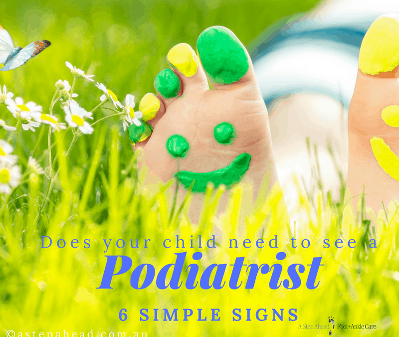 Does your child need to see a Podiatrist?