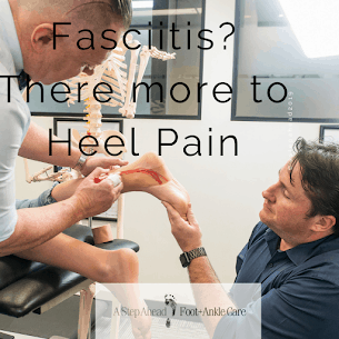 Fasciitis – There's more to heel pain