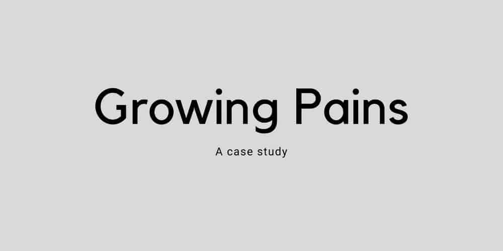 Growing Pains-  More than just pain from growing - A case study - 1