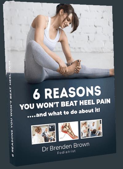 6 reasons people don't beat heel pain